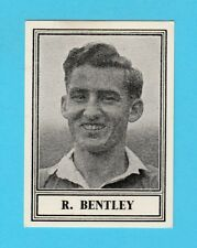 BARRATT & CO. - SCARCE FOOTBALL CARD -  R.  BENTLEY  OF  CHELSEA  -  1950-52