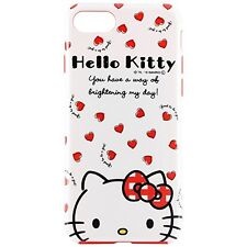 "New SANRIO Japan iPhone 7 Plus (5.5"") Soft Case Hello Kitty Hearts Kawaii F/S"