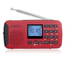 Retekess portatile FM/AM/NOAA Weather Radio d'emergenza Hand Crank Solare Lettore MP3