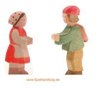 Ostheimer Krippe Hirtenbub mit Heidi im Set 2-teilig vom Fachhandel ** NEU **