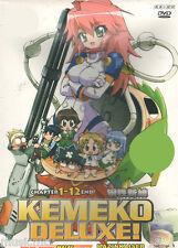 DVD Kemeko Deluxe! Mazinkaiser ( Chapter 1 - 12 End ) English SUB