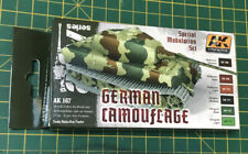 AK Interactive German Camouflage Modulation Acrylic Paint Set For Models 1/35