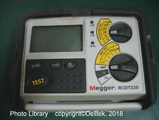 Megger RCDT320 RCD Tester - Optional: 1 Year Calibration & 1 year Warranty