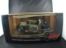 Schuco 06540 Moto Heinkel Roller Metallmodell scooter side car 1/10 neuf MIB