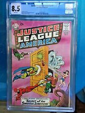 JUSTICE LEAGUE OF AMERICA #2 CGC VF+ 8.5; White pg!; classic Anderson cover!