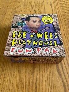 Pee  Wee's Playhouse Fun Pak Trading Cards Box Set