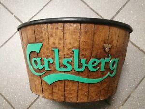Genuine large Vintage Carlsberg Ice Bucket