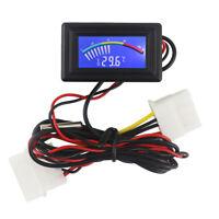 Auto Digital Wassergekühltes Thermometer KFZ PC LCD Anzeige Zeiger Thermometer