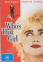 Who's that Girl * NEW DVD * Madonna (Region 4 Australia)