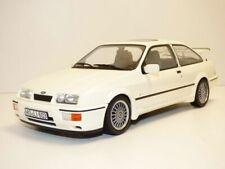 FORD SIERRA RS COSWORTH blanc 1986 1/18