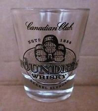 Lot of 24 New Canadian Club Founders Whisky Estd 1858 Shot Glasses 1.5oz Whiskey