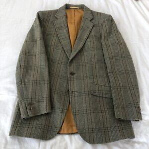 Vintage Bladen Supasax Tweed Jacket Size 36R