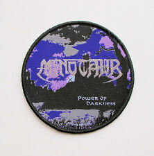 MINOTAUR - Power of Darkness - Woven Patch / Protector Morbid Saint Darkness