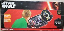 Disney Star Wars The Force Awakens Pinball Machine Tabletop Arcade Game Toys