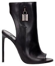 dbb46f19504a  1490+Tax 100% AUTH!!! Tom Ford Padlock Black Leather Open toe