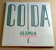 LED ZEPPELIN ~ Coda ~ LP stampa UK A2/B 1st SWAN SONG A0051 Quasi Nuovo