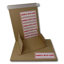 More details for book wrap mailing postal boxes - peel and seal tape & tear rip strip with labels