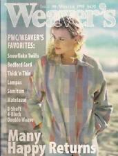 Weaver's magazine 30: 8-shaft 4-block double weave.
