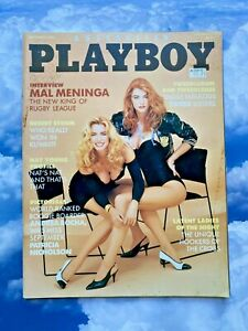 Australian Playboy Magazine - September 1991 - Life-Size Poster Included