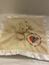 New listing Baby Fanatic Cleveland Browns Bear Security Blanket Lovey Infant Satin Nwt