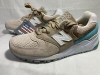 New Rare New Balance 999 Tan Made in USA Shoes Size 4.5 Men 6 Women (M999CSS)