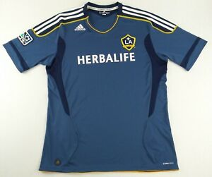 Authentic Adidas 2012 MLS LA Galaxy Soccer Jersey Size Men's XL