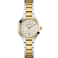 Bulova Women's 98L217 Quartz Two Tone Stainless Steel Bracelet Watch