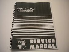 Puch Max I & Magnum MK II Service-Shop Manual
