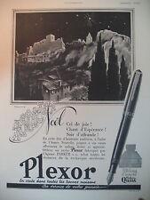 PUBLICITE DE PRESSE PARKER PLEXOR STYLO PLUME ILLUSTRATION MARJOLLIN AD 1941