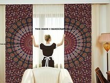 Hippie Curtain Indian Mandala Tapestry Wall Hanging Door Valances Decor Bohemian