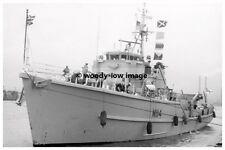 rp3670 - UK Royal Navy Warship - HMS Brinton M1114 - photo 6x4