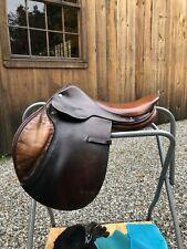 """Vintage Hermes 17.5"""" Hunter/Jumper Saddle"""