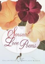 Sensual Love Poems by Blease, Kathleen, Good Book