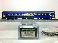 HISPATREN 9602-02 Coche 1ª A9t-9104 N.I. RENFE Escala N + Kit mejora instalado