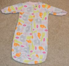 Carter's Size One Size 0-9 months Girl's Little Sweetie Long Sleeved Sleep Sack
