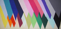 Mini fabric bunting assorted colours Decoration Wedding Party gift 3 mt 18 flags