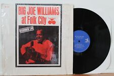 "Big Joe Williams LP ""At Folk City"" ~ Prestige 1067 Mono ~ VG++ in Shrink"