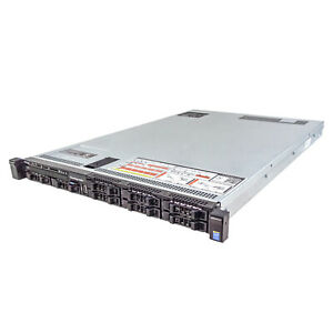 Dell PowerEdge R630 Server 2x E5-2640v3 2.60Ghz 16-Core 64GB H330