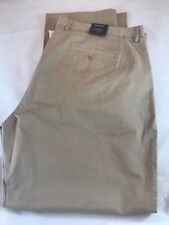 """BNWT GANT NEW HAVEN Chinos Fit  Sandstone W46"""" L34"""" Big And Tall Plus Size"""
