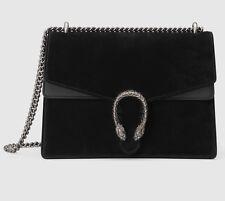 Gucci Dionysus Black Suede Bag