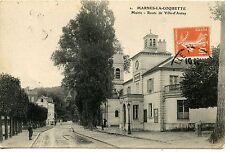 CARTE POSTALE / MARNES LA COQUETTES MAIRIE ROUTE VILLE D'AVRAY