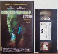 VHS FILM Ita Thriller OMICIDIO VIRTUALE cic video UVT 60521 ex nolo no dvd(V139)