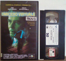 VHS FILM Ita Thriller OMICIDIO VIRTUALE cic video UVT 60521 ex nolo no dvd(VH33)