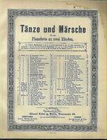 C. BOHM, TANZKRÄNZCHEN-POLKA Op. 42,  übergroße, alte Noten