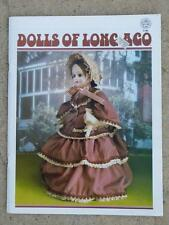 DOLLS OF LONG AGO, Full Color Pattern Book, D183 Zim's, LNC, uncut, softcover