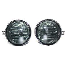 2Pcs/Set Smoke Tinted Lens Fog Light Bumper Lamp for Dodge Challenger Pair