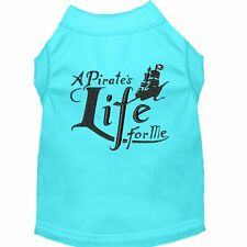 Mirage Pet Products A Pirate's Life Embroidered Dog Shirt Aqua Lg (14)