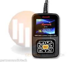 BMW MINI iCarsoft i910-II OBD2 DIAGNOSTIC SCANNER TOOL READER RESET ERASE CODES