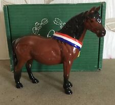 BESWICK HORSE PONY DARTMOOR ANOTHER BUNCH BROWN GLOSS MODEL LTD EDITION  BOXED