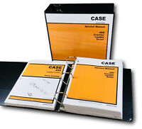CASE 450 CRAWLER LOADER DOZER SERVICE MANUAL 188 DIESEL ENGINE PARTS CATALOG SET